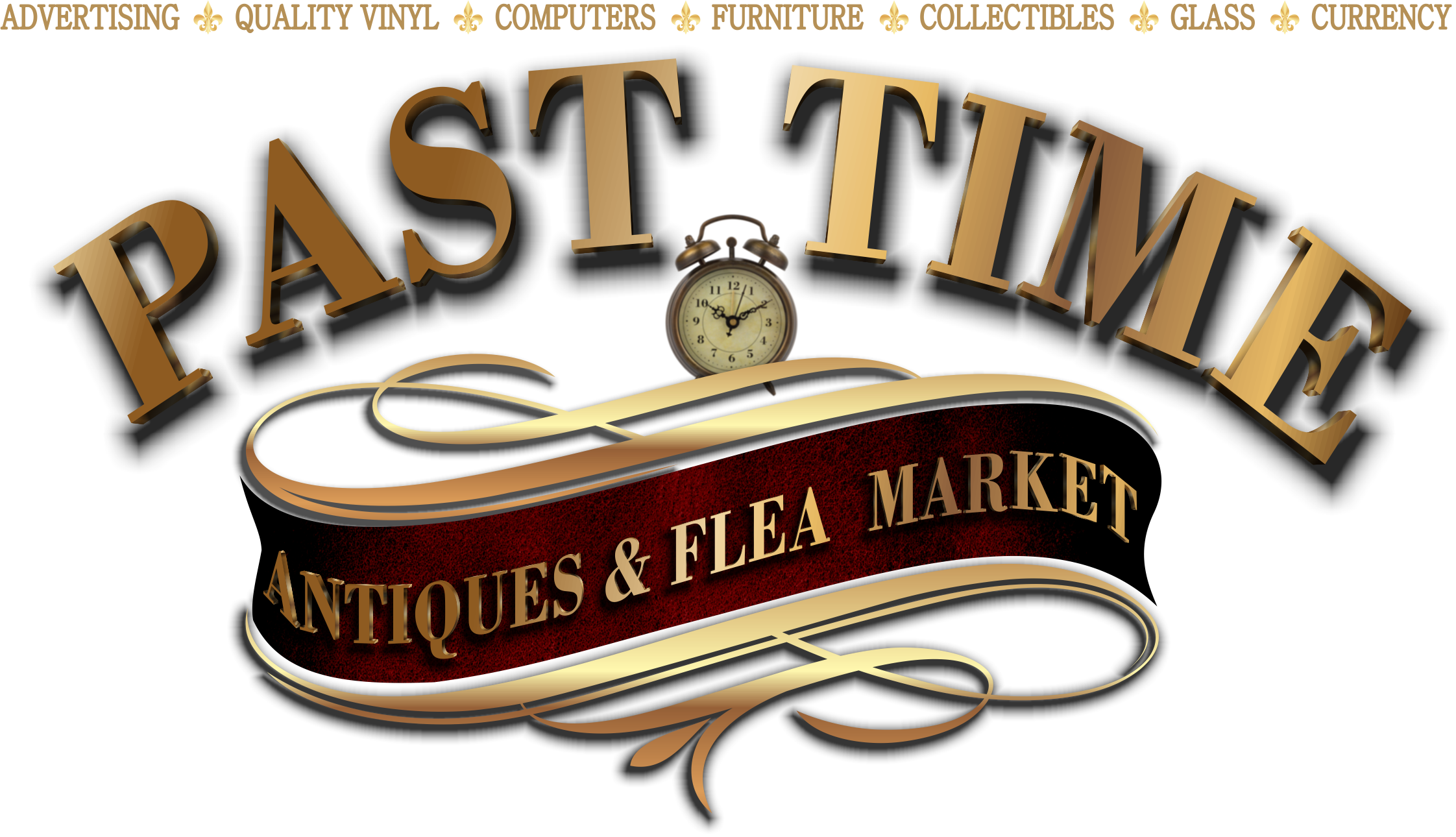 Past Time Antiques Main Logo